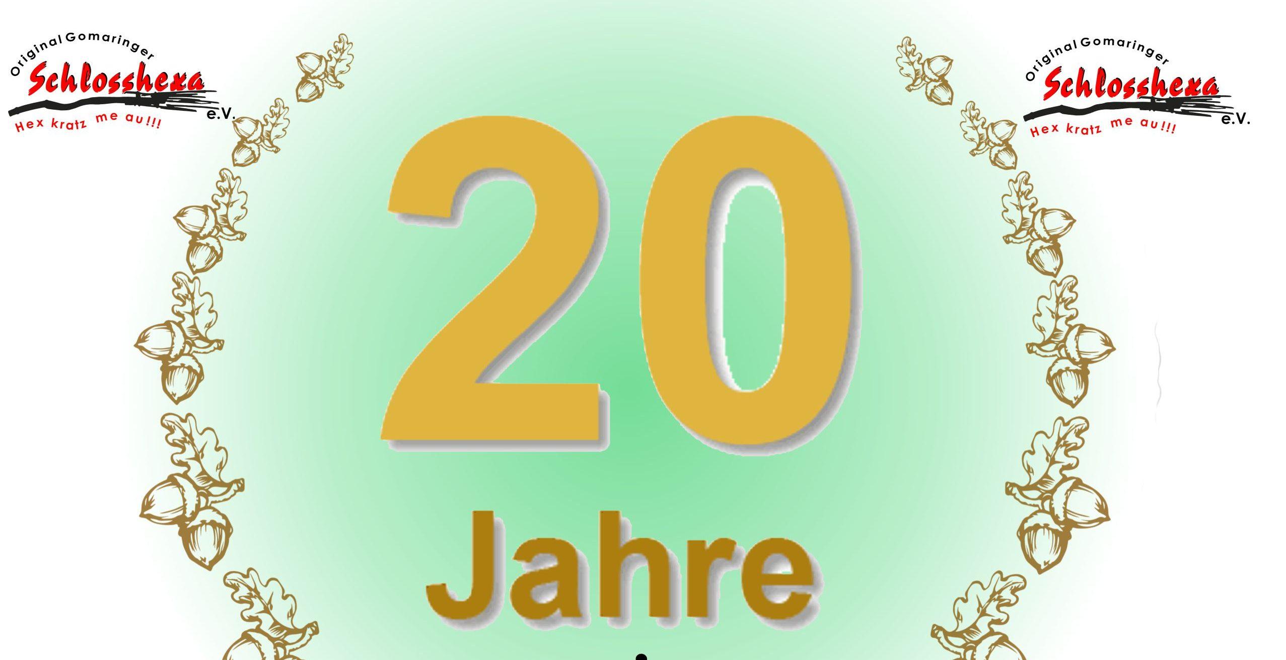 20 Jahre Oichele - Brauchtumsabend - Original Gomaringer