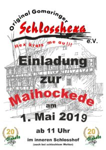 1. Mai Hockete @ innerer Schlosshof
